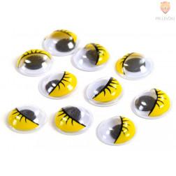 Oko okroglo rumeno 8-24 mm 10/1