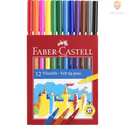 Flomastri Faber-Castell 12 kosov