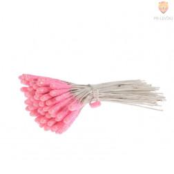 Pestiči dolgi 2 cm roza barve