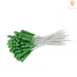 Pestiči dolgi 2 cm zelene barve