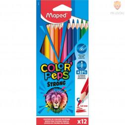 Trikotne barvice Color'Peps 12 kosov