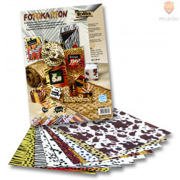 Karton z živalskimi motivi 300g/m2 50cmx70cm 1 kos