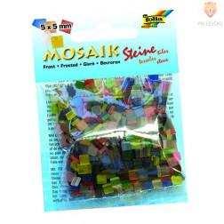 Mozaik Frost 5x5mm bež barve 700 kosov