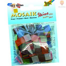 Mozaik Frost 10x10mm barvni miks 190 kosov