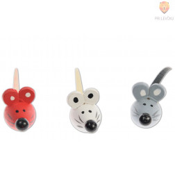 Lesene miške 3D