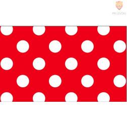 Karton s pikami rdeč 300g/m2 50x70cm 1 kos