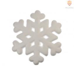 Snežinka iz stiroporja 19,5 cm 1 kos
