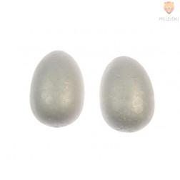 Jajca iz stiroporja 7 cm 2 kosa