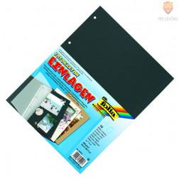 Vložni kartoni za mape 23,2x29,7cm črne barve 4 luknje 10 listov
