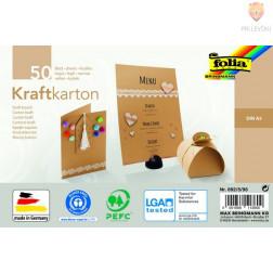 Kraft karton A5 230 g/m2 50 listov