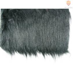 Dolg pliš črne barve 430g/m2 25x35cm