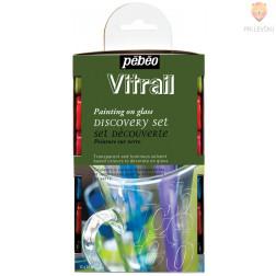 Set VITRAIL barv za steklo 12x20ml