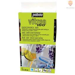 Set VITREA 160 GLOSSY barv za steklo 12x20ml