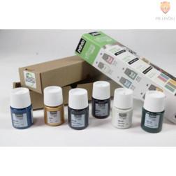 Set barv za steklo VITREA160 pastelni odtenki Initiation 6x20ml