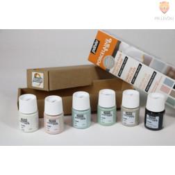 Set barv za porcelan PORCELAINE150 mat videz Initiation 6x20ml