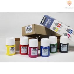 Set barv za tkanine SETACOLOR LIGHT FABRICS Initiation 6x20ml