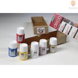 Set dekorativnih akrilnih barv DECO Initiation 6x20ml