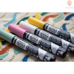 Prekrivni flomasti za temne tkanine 7A, debelina konice 4 mm, različne barve