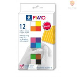 Komplet polimerne mase Fimo Soft Basic 12x25g