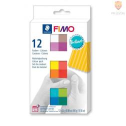 Komplet polimerne mase Fimo Soft Brilliant 12x25g