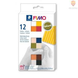 Komplet polimerne mase Fimo Soft Natural 12x25g
