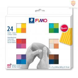 Komplet polimerne mase Fimo Soft Basic 24x25g