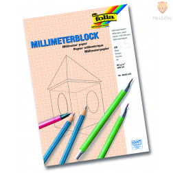 Milimeter blok A4, 25 listov
