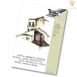 Šolski akvarelni blok format A3 150g/m2 10 listov