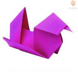 Origami papir intenzivnih barv 20x20cm 70g/m2 100 listov