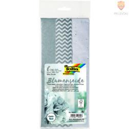 Svileni papir srebrni miks 50x75 cm 3 kosi