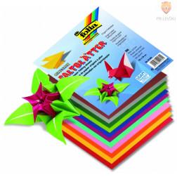 Origami papir barvni 10 cm x 10 cm