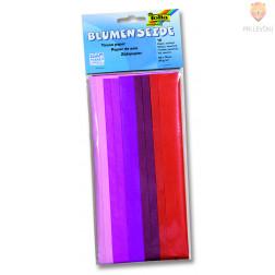 Svileni papir mix rdeč 20 g/m2 10 pol 50x70cm