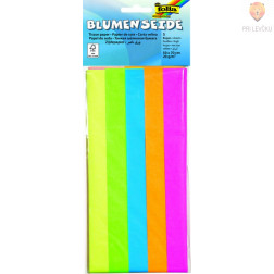 Svileni papir mix neon 20 g/m2 5 pol 50x70cm