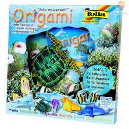 Origami set z navodili Podvodni svet