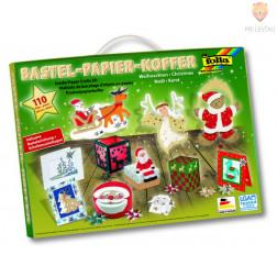 Veliki set papirjev za izdelavo božičnih dekoracij - 110-delni