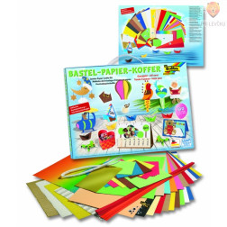 Veliki set papirjev za izdelavo dekoracij 110-delni