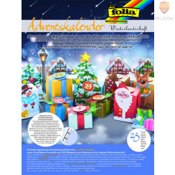 Adventni koledar Zimska pokrajina 25 delni