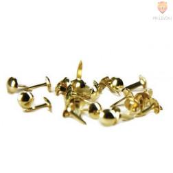 Razcepke zlate barve 8mm 100 kosov