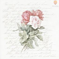 Prtički za servietno tehniko Vrtnice 4 20 kosov