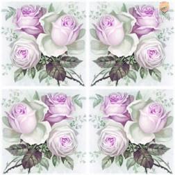 Prtički za servietno tehniko Vrtnice 3 20 kosov