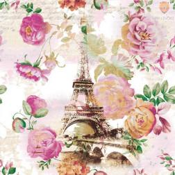 Prtički za servietno tehniko Vrtnice in Pariz 20 kosov