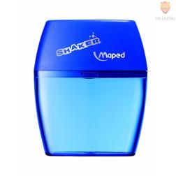 Dvojni šilček s plastičnim kontejnerjem Shaker modre barve 1 kos