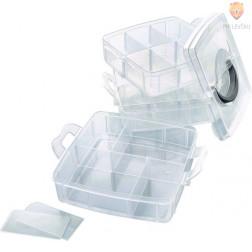 Plastična škatla za shranjevanje 15x15x12,5cm