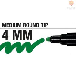 Akrilni flomaster debeline 4mm 1 kos