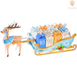 Adventni koledar Jelenčkove sani 50 delni