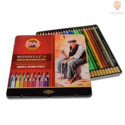Akvarelne barvice Mondeluz 24/1 koh-I-Noor