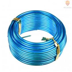 Aluminijasta žica turkizne barve 2mmx5m