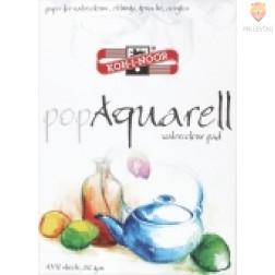 Blok papirja za risanje popAquarell A4 250g/m2 10 listov