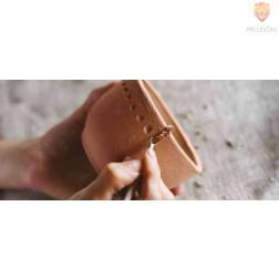 Modelirna masa Deco 0,5kg terracotta sušeča na zraku