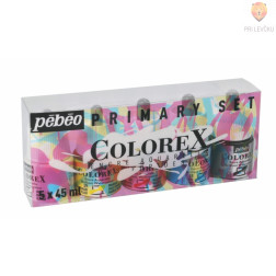 COLOREX set akvarelnih transparentnih tušev 5x45ml
